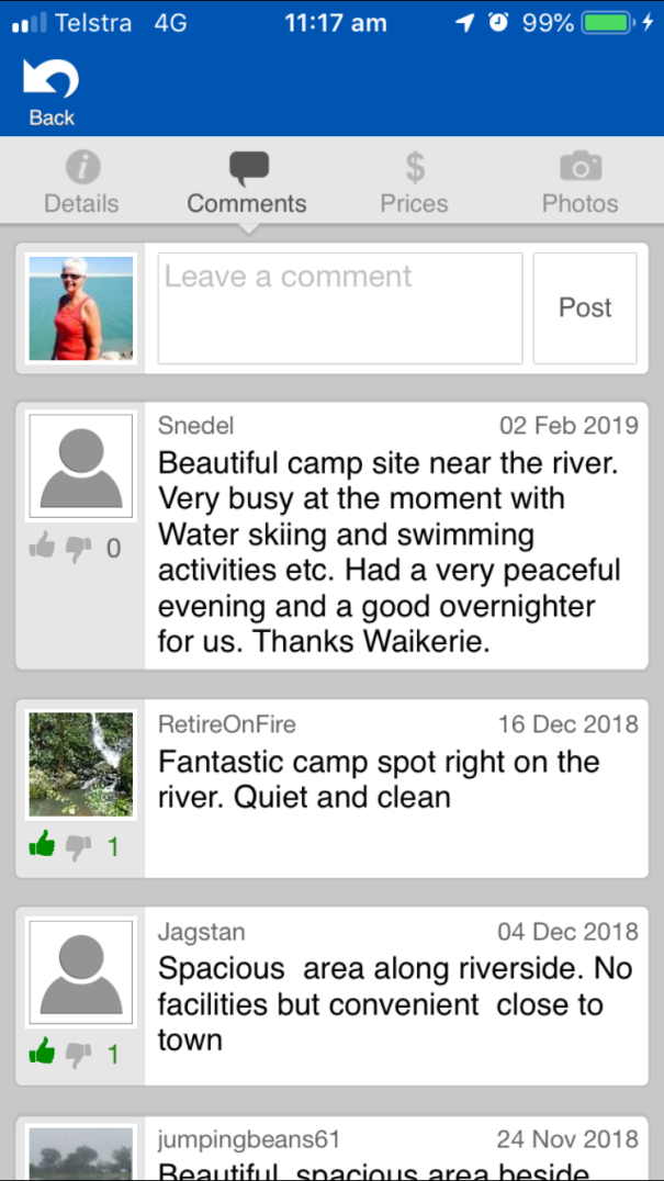 WikiCamps Australia App