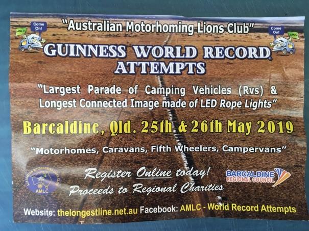 Brochure for AMLC Longest Line Challenge